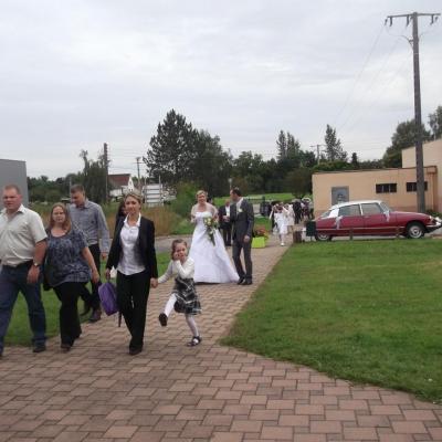 Mariage Jessica et Jean Pascal le 30/08/2014